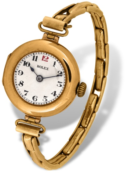 ↑クロノメーター認定を受けた初の腕時計