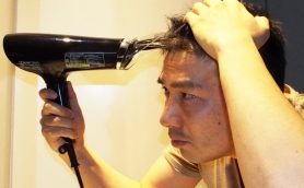 「頭皮に効くドライヤー」は1か月で中年男の薄毛を止められたか? シャープ「スカルプエステ」使用前と使用後を比べた結果……