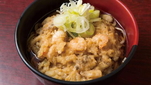 【立ち食いそば】愛されて40年…でも、麺を変えたのは大正解! もちもち麺と多彩な天ぷらでビジネスマンを癒す赤坂見附「蓼科」