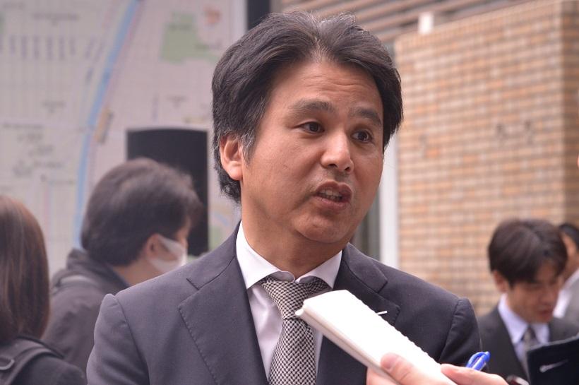 ↑サントリー食品インターナショナル執行役員 沖中直人さん