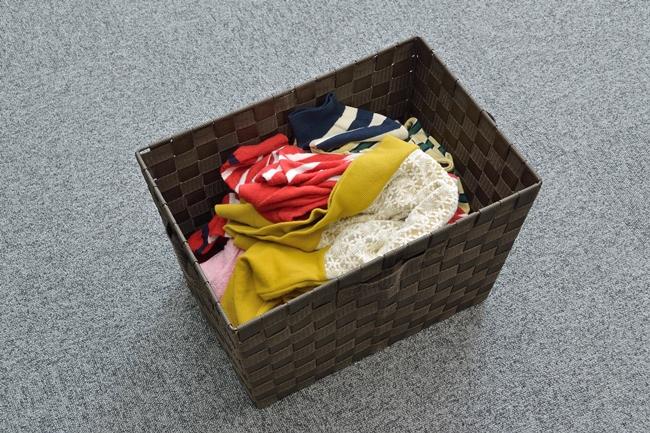 ↑洗濯物をランダムに投入しても全自動で折りたたみ、仕分けまでしてくれる