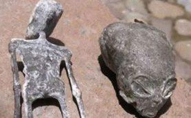 【ムー宇宙人情報】ペルーの古代遺跡で小型エイリアンのミイラを発見! 同じ洞窟で見つかった巨大生物との関係とは?