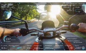 コレ、ゲーム画面じゃないんです! 走行データと臨場感あふれる映像が融合するライダー必携アイテム「XON REC-1」