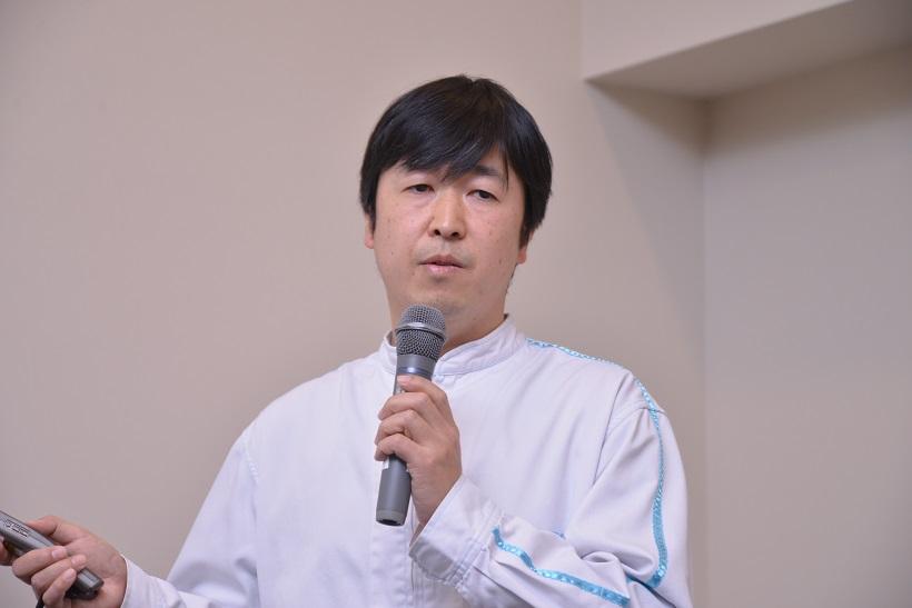 ↑久保田醸造技師長