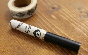 ↑マステ巻きは有効な手段。お相撲さん柄で男子力をアピールする