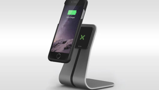 iPhoneの充電が面倒な人にはコレ! 置くだけで充電できるワイヤレス充電器「XVIDA」
