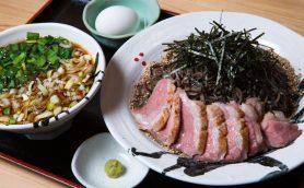 【そば新世代店】柔らか鴨肉140g、もっちり麺は何と400g! ボリューム満点の「鴨つけそば」で人気の神保町「WAG」