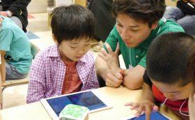 学研とママ向け有名サイト「ママスタ」がコラボ! かぞくみらいフェスで子ども向けプログラミングワークショップを開催!