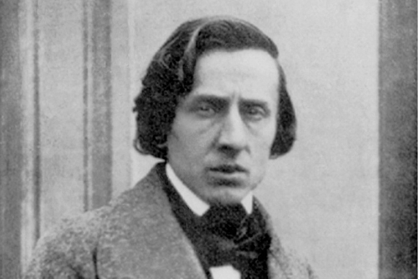 ↑reprint of photo of Chopin made by Louis-Auguste Bisson in 1849 (public domain)