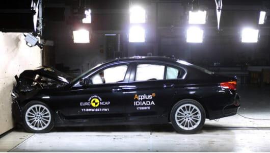 ユーロNCAPがBMW「新型5シリーズ」の衝突安全テストを実施! 特に優れていたのは?【動画】