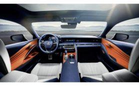 レクサス新型「LC500」はインテリアも好評! アメリカで「ベスト10インテリア」に選出