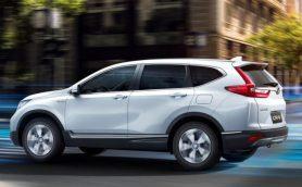 パワフルな走りと環境性能を両立! ホンダ が新型SUV「CR-Vハイブリッド」を世界初公開