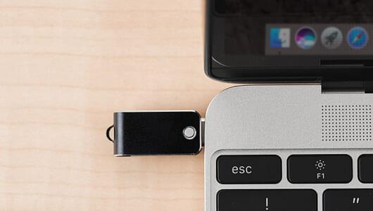 MacBookユーザーにオススメ! データのやりとりに使えるUSB Type-C対応のUSBメモリ