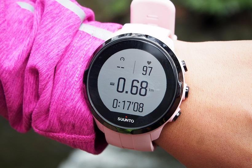 ↑心拍、距離、時間などは一覧で表示されます