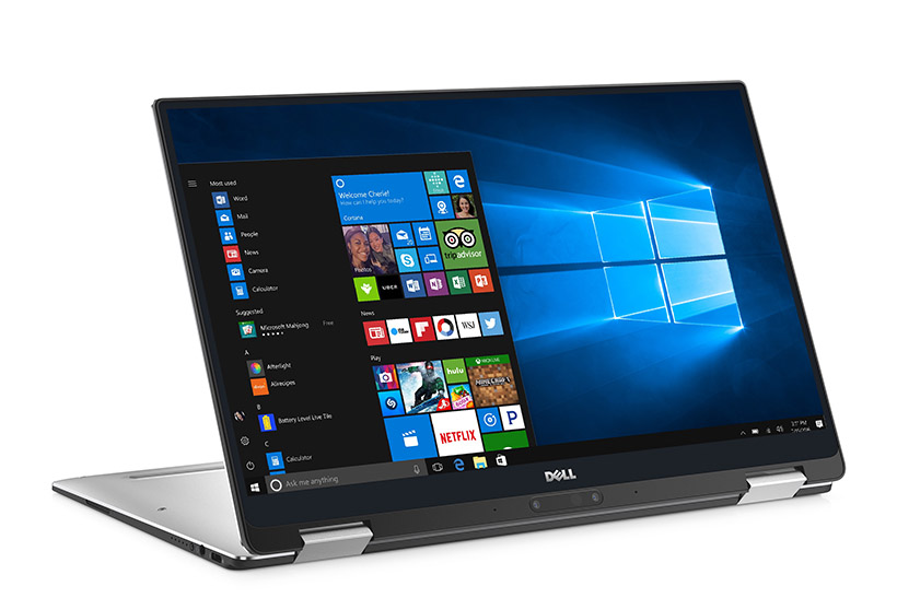 XPS 13 (Model 9365) 2-in-1 Touch notebook computer, codename Aventador.