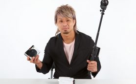 癒し系プロレスラーが最新カメラで撮影したらどうなった? 最旬ユニットCHAOSメンバーのオフショット画像&動画を大公開