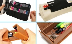 """新年度は""""ワザ効き便利筆箱""""で気分を一新! 文房具の達人イチオシの便利な機能性筆箱たち"""