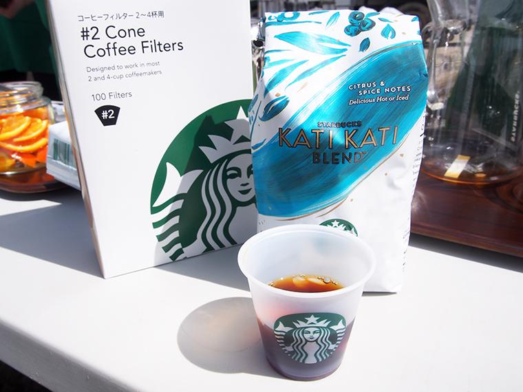 ↑バリスタと一緒にコーヒーを楽しむ「コーヒー ワークショップ」