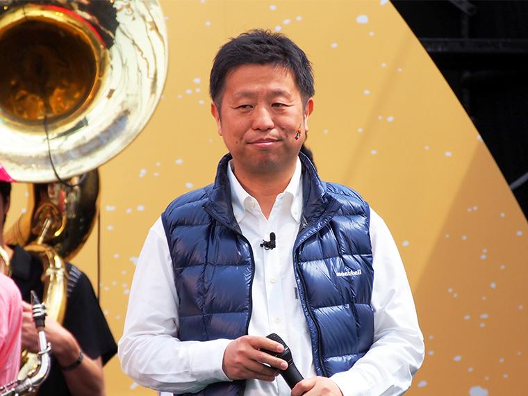 ↑スターバックス コーヒー ジャパン 広報部長 足立紀生氏