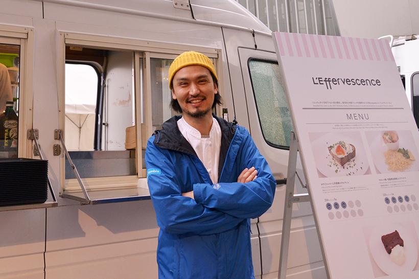 ↑予約困難のカリスマフレンチ「レフェルヴェソンス」のスターシェフ・生江史伸さん