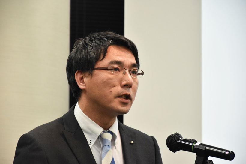 ↑アイリスオーヤマ 家電事業部 統括事業部長の石垣達也氏