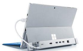 SurfaceのUSBポートが足りないとお嘆きの方必見! 拡張性を強化するドッキングステーション