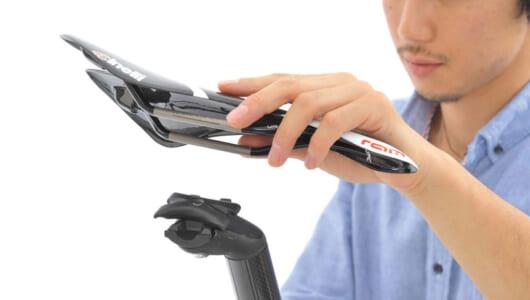 【画像多数】ロードバイクの尻、股の痛みを抑えるために! サドル・シートピラーの交換方法をチェック