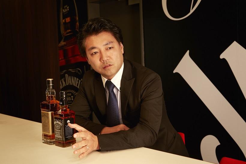 ↑この人に聞きました。「ジャック ダニエル」の製造元である、ブラウン・フォーマン ビバレッジス ジャパンのブランドマネージャー・奥村龍太郎さん