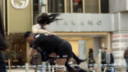 ラグビー世界王者「オールブラックス」が東京の街で大暴れ! そのワケとは?