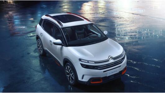 独自の快適性が新次元に! シトロエンがSUVコンセプト「C5エアクロス」を発表【上海モーターショー2017】