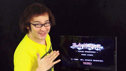 ファミコン屈指のムズゲー「忍者龍剣伝」をノーミスでクリアせよ!【ゲーム芸人フジタの挑戦】
