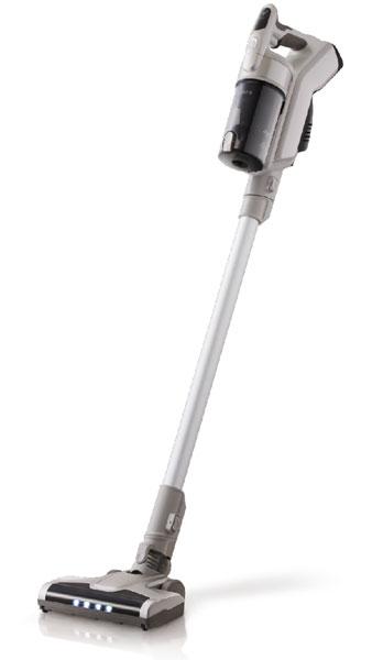 【SPEC】●サイズ/質量:組立時 約W227×H1055×D211㎜/約2.1kg●充電池:18Vリチウムバッテリー●集塵容積:0.35L●充電時間:4時間●稼働時間(標準):25分、稼働時間(強):15分●付属品:隙間ノズル、ブラシ付きノズル