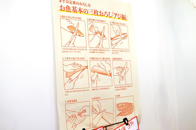 ↑その名の通り、おかしらつきの丸魚。おろし方の解説書やレシピももらえるので、慣れていない人も安心して購入できるわけです