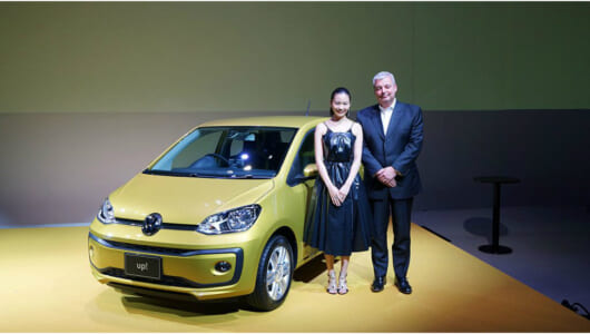 ちっちゃくてもタフなヤツ! VWのコンパクトカー新型「up!」が日本デビュー