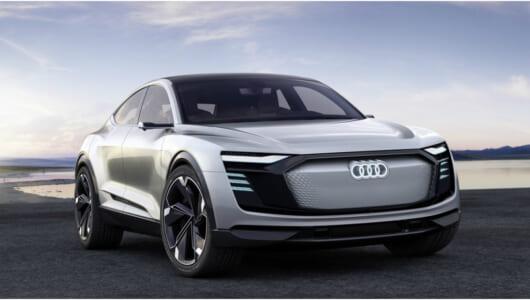 量産型は2019年? アウディ「e-tronスポーツバック・コンセプト」詳報【上海モーターショー2017】