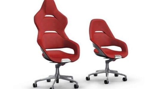 その名も「コックピット」! フェラーリと高級家具ブランドがコラボしたオフィスチェアーがスタイリッシュ