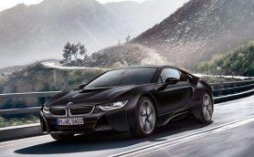 最高にクール! BMW「i8」にマット塗装が施された漆黒の限定車が登場