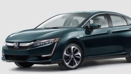 ホンダが燃料電池車「クラリティ」にEVとPHEVを追加!【ニューヨークショー2017】