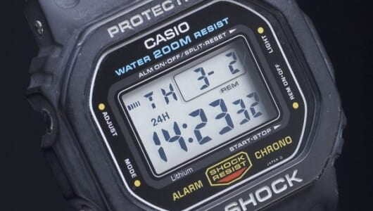 【G-SHOCK列伝3】キアヌ・リーブスと共にブレイク! 究極の機能美を備えた「スピードモデル」は1994年に誕生