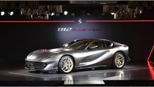 量産フェラーリ史上最強のパワー! 「フェラーリ812スーパーファスト」がジャパン・プレミア