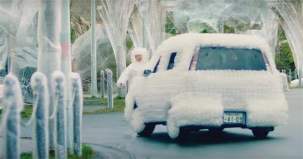 出典:「岡山トヨペット公式サイト Bubblepack Town」動画より