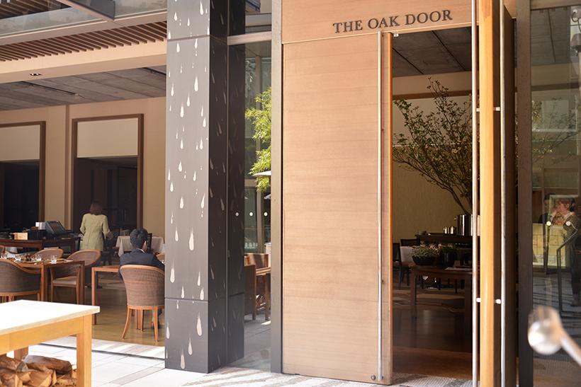 ↑ステーキハウス「オーク ドア」。「グランド ハイアット 東京」の6階に出店しています