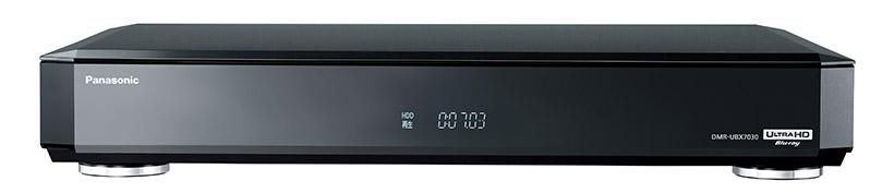 ↑パナソニックのUHD BD対応レコーダー「全自動ディーガDMR-UBX7030」