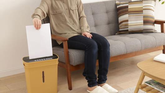 職場や家庭の情報漏えいを防ぐ! 細密カットで機密性を高めたシュレッダー