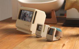 Apple WatchをiMac G3風にディスプレイできる充電スタンド「W4 STAND」