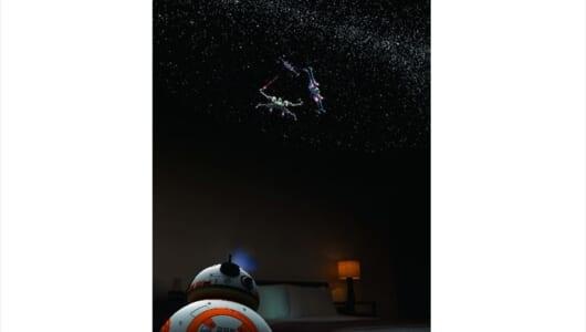 「スター・ウォーズ」の人気キャラ「BB-8」「R2-D2」が家庭用プラネタリウムに!?