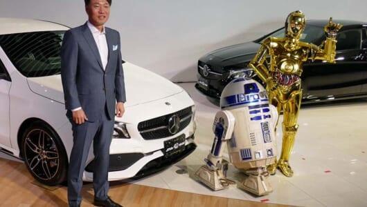 【スター・ウォーズの日】公開40周年を記念した限定モデル「メルセデス・ベンツCLA 180 STAR WARS Edition」登場