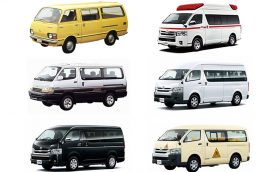 【the周年!】救急車から幼児バスまで街中「ハイエース」だらけ! 日本を代表するワンボックスカーの50年の軌跡