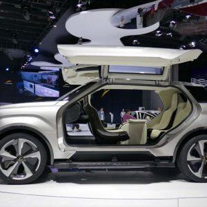 ↑福建省の環境対応車メーカーとして知られるYUDOが出展した「X-TTコンセプト」