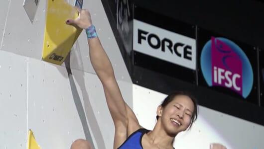 日本が男女で2位&3位! 東京五輪に向けて注目のボルダリング、W杯八王子大会ハイライト